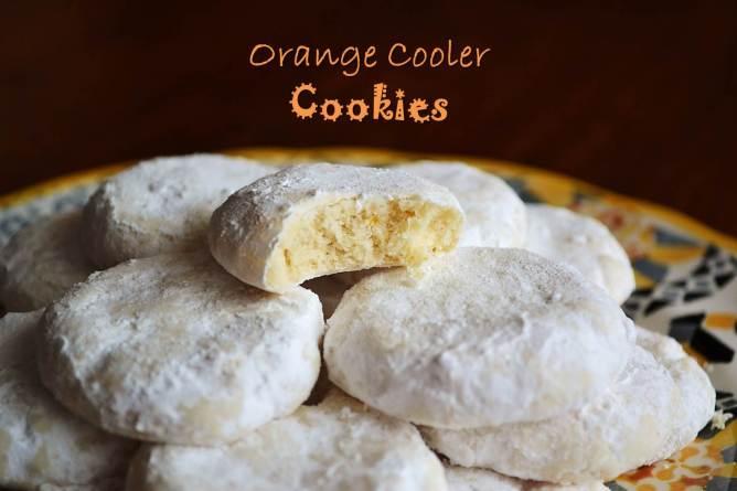 Orange Cooler Cookies by LBBakes